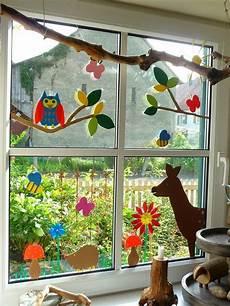 Herbst Basteln Kinder Fenster - meine gr 252 ne wiese gebasteltes merken basteln fr 252 hling
