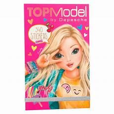 Topmodel Depesche Malvorlagen Depesche Topmodel Stickerpad Omg Petit Bazaar