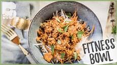 Fitness Bowl Quinoa Tempeh Rezept