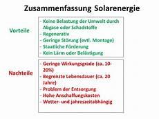 Vor Und Nachteile Sonnenenergie - solarenergie nachteile home ideen