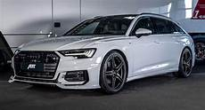 glacier white audi a6 avant 3 0l diesel gets 325 hp upgrade by abt carscoops