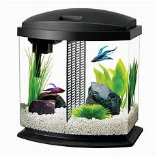 aqueon bettabow aquarium led starter kit 2 5 gallon black walmart com