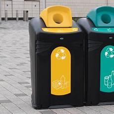 conteneur tri selectif poubelles de tri selectif exterieur