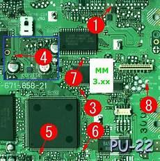 modchip console scph 7501 playstation 1 mm3 modchip installation pu 22