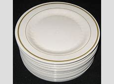 Plastic Plates And Silverware At Reception Tacky, Paper