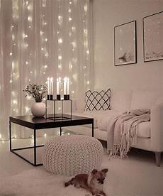 Home Decor Ideas With Lights by 25 Cozy String Lights Ideas For Living Rooms Digsdigs