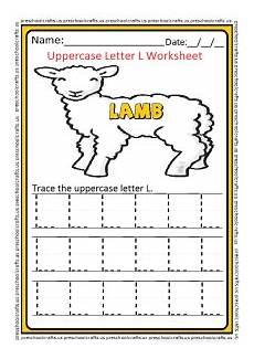 letter l worksheets for kindergarten 23191 uppercase letter l worksheets free printable preschool and kindergarten