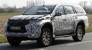 SPIED 2016 Mitsubishi Pajero Sport First Sightings