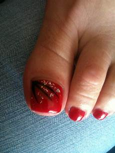 58 incredible red toe nail art design ideas for trendy girls