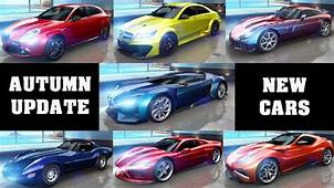 Asphalt 8  Autumn Update All New Cars 270 YouTube