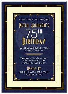 75th birthday card template 16 75th birthday invitations unique ideas birthday
