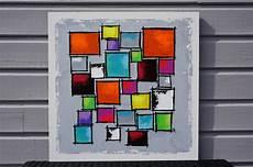 tableau geometrique moderne peinture formes g 233 om 233 triques tableau ledebureau