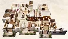 4 bedroom apartment house floor 50 four 4 bedroom apartment house plans planos de