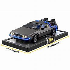 delorean modell schwebend build the back to the future delorean model
