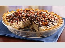 chocolate peanut butter bacon pie_image