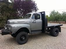 Custom 1948 Ford F5 4x4 Classic Truck