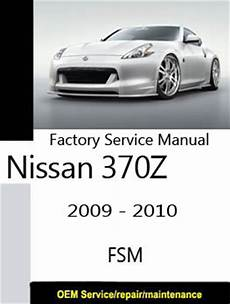 download car manuals pdf free 2009 nissan 370z nissan 370z z34 only repair manuals