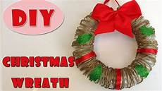 Diy Bastelideen Weihnachten - how to make a wreath for wreath