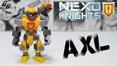 lego nexo knights axl mighty form custom figure