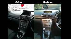 android tablet as a car stereo gps installed in toyota