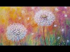 Acryl Malvorlagen Blumen L 246 Wenzahn Wildblumen Live Anf 228 Nger Acrylmalerei Tutorial