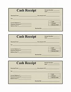 17 free receipt templates for excel word and pdf