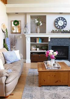 Home Decor Ideas Living Room Modern by Modern Farmhouse Summer Living Room Decorating Ideas