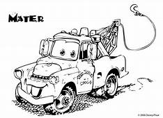 44 Mater Coloring Pages Free Tow