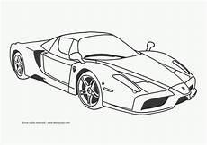 Malvorlagen Auto Sports Car Coloring Page