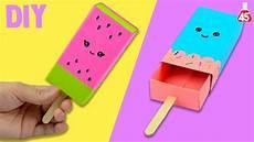 lavoretti da casa portaoggetti di carta fai da te diy gelato kawaii