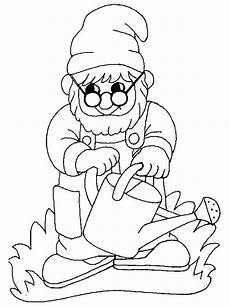 gnomes coloring pages and print gnomes coloring