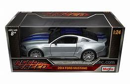 MAISTO 124 W/B NEED FOR SPEED 2014 FORD MUSTANG WITH BLUE