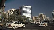 Trajet En Voiture Ville Abou Dabi Emirats Arabes