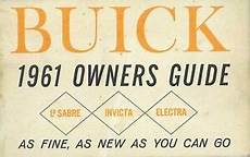 manual repair free 1988 buick electra windshield wipe control oem maintenance owner s manual bound buick electra lesabre invicta 1961 ebay