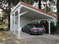 Anlehncarport Mit Abstellraum - carport mit pultdach ideen mit holz