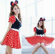 karneval damen adults mickey mouse kleid kost 252 m