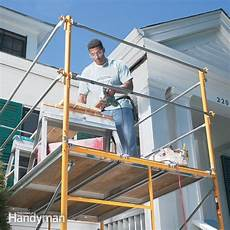 How To Work With Scaffolding Safely The Family Handyman