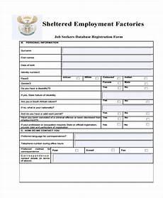 proof of registration as a work seeker form free 30 sle registration forms pdf