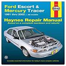 free service manuals online 1991 mercury tracer engine control ford escort mercury tracer 1991 2002 all models haynes