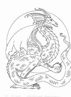 coloring pages dragons and fairies 16609 brown coloring book myth mythical mystical legend fae wings f