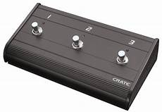 Crate Three Button Metal Crate Footswitch Best Price