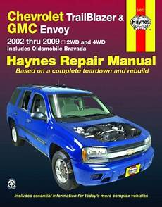 free auto repair manuals 2009 gmc envoy windshield wipe control download free chevrolet trailblazer and gmc envoy 2002 2009 haynes repair manual by haynes pdf