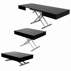 Deco In Table Basse Relevable Extensible Laquee