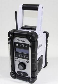 Makita Bmr104w Baustellenradio Dab Digital Quot Limited White