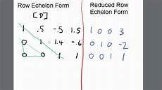 row echelon ref reduced row echelon form rref ti 84 calculator youtube
