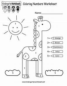coloring pages coloring numbers worksheet free kindergarten math worksheet for kids math color
