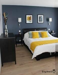 couleur deco chambre mur bleu dans la chambre visite d un appartement