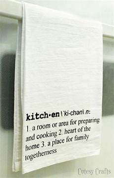 Kitchen Towels Definition by Definition Tea Towels Cutesy Crafts