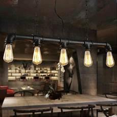 luminaire suspendu style industriel loft industrial style coffee shop retro chandelier l is