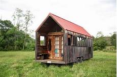 Small Mobile Home Created Salvaged Wood small mobile home created with salvaged wood